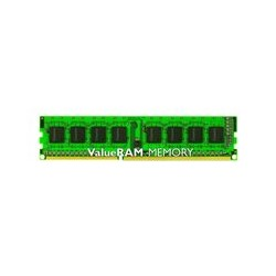Kingston ValueRAM - DDR3 - 2 GB - UNBUFFERED Sin memoria intermedia - UDIMM de 240 espigas - 1333 MHz / PC3-10600 - CL9 - 1.5 V - no ECC