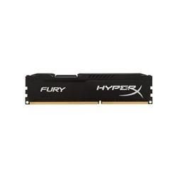 HyperX FURY - DDR3 - 8 GB - DIMM de 240 espigas - 1600 MHz / PC3-12800 - CL10 - 1.5 V - sin memoria intermedia - no ECC - negro