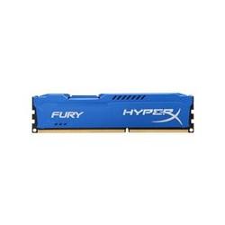 HyperX FURY - DDR3 - 8 GB - DIMM de 240 espigas - 1600 MHz / PC3-12800 - CL10 - 1.5 V - sin memoria intermedia - no ECC - azul
