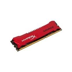 HyperX Savage - DDR3 - 4 GB - DIMM de 240 espigas - 2400 MHz / PC3-19200 - CL11 - 1.65 V - sin b�fer - no ECC - rojo