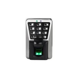 ZKTeco  - MA500 - Dispositivo Standalone de Huella Digital - Lectura de huellas digitales y tarjetas RFID - PULL SDK firmware - Carcasa de metal - IP65 resistente al agua y al polvo - Capacidad de huellas dactilares: 3,000 - Capacidad de la tarjeta de identificación: 30,000 - Capacidad de registro: 100,000 - Comunicación: TCP / IP, RS485 - Interfaz de control de acceso para cerradura eléctrica, sensor de puerta, alarma, botón de salida - Entrada y salida Wiegand