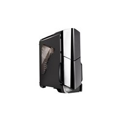 Thermaltake Versa N21 Window - Media torre - ATX - USB 3.0 x 1 - USB 2.0 x 2 - HD Audio x 1 - sin fuente de alimentaci�n (PS/2) - negro