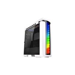 Thermaltake Versa C22 RGB - Snow Edition - media torre - ATX - USB 3.0 x 2 - USB 2.0 x 2 -  HD Audio x 1 - LED Control - sin fuente de alimentaci�n ( PS/2 ) - black and white