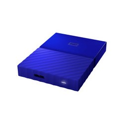 WD My Passport WDBYNN0010BBL - Disco duro - cifrado - 1 TB - externo (portátil) - USB 3.0 - AES de 256 bits - azul