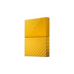 WD My Passport WDBYFT0020BYL - Disco duro - cifrado - 2 TB - externo (portátil) - USB 3.0 - AES de 256 bits - amarillo
