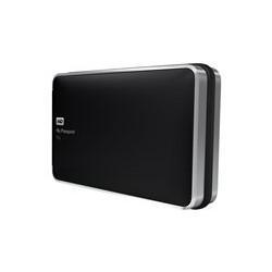 WD My Passport Pro WDBRMP0020DBK - Orden unidad de disco duro - 2 TB - 2 compartimentos - HDD 1 TB x 2 - Thunderbolt (externo)