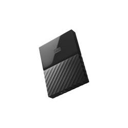 WD My Passport WDBYFT0030BBK - Disco duro - cifrado - 3 TB - externo (port�til) - USB 3.0 - AES de 256 bits - negro