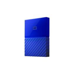 WD My Passport WDBYFT0030BBL - Disco duro - cifrado - 3 TB - externo (port�til) - USB 3.0 - AES de 256 bits - azul