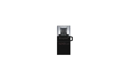Kingston DataTraveler microDuo G2 - Unidad flash USB - 128 GB
