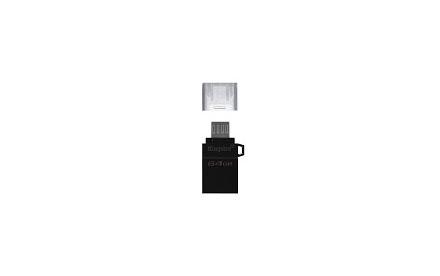 Kingston DataTraveler microDuo G2 - Unidad flash USB - 64 GB