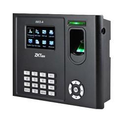 ZK Teco Security - Terminal de control de acceso y control de acceso de huellas dactilares - For wiegand in and out -  Conexión de la cerradura de la puerta - alarmA - Multi-lenguages -  Copia de seguridad y recuperación de datos - Capacidad de Huellas: 3000 - Capacidad de tarjetas ID: 10,000 (Opcional) - Capacidad de Registro: 100,000 - TCP/IP,USB Host & Client - Webserver,  SMS, DST - DC12V 1.5A - 221.7*159.5*42.9mm