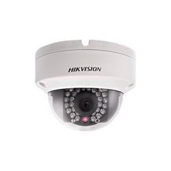 Hikvision IR Fixed Dome Network Camera DS-2CD2120F-I - C�mara de vigilancia de red - c�pula - a prueba de v�ndalos - color (D�a y noche) - 2 MP - 1920 x 1080 - 1080p - montaje M12 - focal fijado - LAN 10/100 - MJPEG, H.264 - CC 12 V / PoE