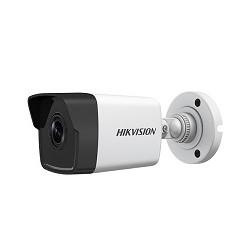 Hikvision DS-2CD1021-I - Cámara de vigilancia de red - exteriores - resistente a la intemperie - color (Día y noche) - 2 MP - 1920 x 1080 - montaje M12 - LAN 10/100 - MJPEG, H.264 - CC 12 V / PoE