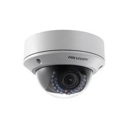 Hikvision DS-2CD1741FWD-IZ - Cámara de vigilancia de red - cúpula - para exteriores - a prueba de vándalos / impermeable - color (Día y noche) - 4 MP - 2688 x 1520 - f14 montaje - motorizado - LAN 10/100 - MJPEG, H.264 - CC 12 V / PoE