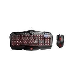 Tt eSPORTS Challenger Prime RGB Combo - Juego de teclado y ratón - USB - negro