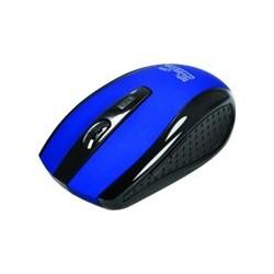 Klip Xtreme KMW-340 - Ratón - diestro - óptico - 6 botones - inalámbrico - 2.4 GHz - receptor inalámbrico USB - azul