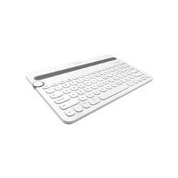 Logitech Multi-Device K480 - Teclado - Bluetooth - blanco