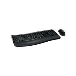 Microsoft Wireless Comfort Desktop 5050 - Juego de teclado y ratón - inalámbrico - 2.4 GHz - Español