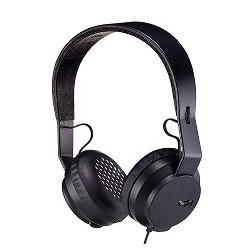 House of Marley Rebel BT - Auriculares con diadema con micro - en oreja - Bluetooth - inalámbrico - negro