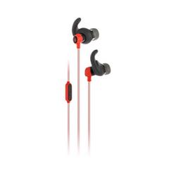 JBL Reflect Mini - Auriculares internos con micro - en oreja - cableado - conector de 3,5 mm - rojo