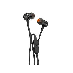 JBL T290 - Auriculares internos con micro - en oreja - cableado - conector de 3,5 mm - negro