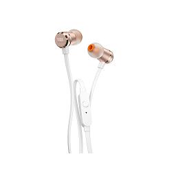 JBL T290 - Auriculares internos con micro - en oreja - cableado - conector de 3,5 mm - oro