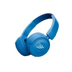JBL T450BT - Auriculares con diadema con micro - en oreja - Bluetooth - inal�mbrico - azul