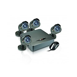 Nexxt Xpy 4004-HD – Standalone DVR – 4 Video canales – en red– HD Kit w/ 4 Cam TVI
