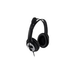 Microsoft LifeChat LX-3000 - Auricular - tamaño completo - cableado - USB - negro