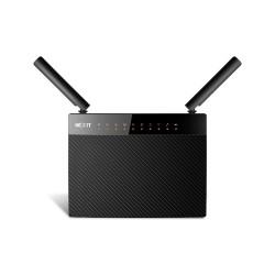 Nexxt Acrux 1200-AC - Enrutador inalámbrico - conmutador de 4 puertos - GigE - 802.11a/b/g/n/ac - Doble banda