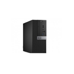 Dell OptiPlex 7050 - SFF - 1 x Core i5 7500 / 3.4 GHz - RAM 8 GB - HDD 1 TB - grabadora de DVD - HD Graphics 630 - GigE - Win 10 Pro 64 bits - monitor: ninguno