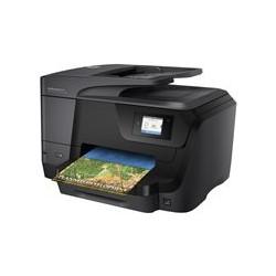 HP Officejet Pro 8710 All-in-One - Impresora multifunción - color - chorro de tinta - A4 (210 x 297 mm), Legal (216 x 356 mm) (original) - A4/Legal (material) - hasta 30 ppm (copiando) - hasta 35 ppm (impresión) - 250 hojas - USB 2.0, LAN, Wi-Fi(n), host USB