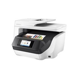 HP Officejet Pro 8720 All-in-One - Impresora multifunción - color - chorro de tinta - Legal (216 x 356 mm) (original) - A4/Legal (material) - hasta 37 ppm (copiando) - hasta 37 ppm (impresión) - 250 hojas - USB 2.0, LAN, Wi-Fi(n), host USB, NFC