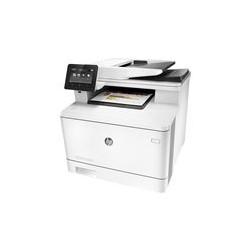 HP Color LaserJet Pro MFP M477fdw - Impresora multifunción - color - laser - Legal (216 x 356 mm) (original) - A4/Legal (material) - hasta 28 ppm (copiando) - hasta 28 ppm (impresión) - 300 hojas - USB 2.0, Gigabit LAN, Wi-Fi(n), host USB, NFC