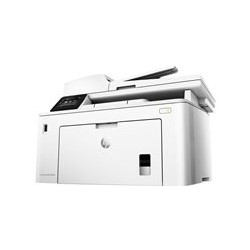 HP LaserJet Pro MFP M227fdw - Impresora multifunción - B/N - laser - Legal (216 x 356 mm) (original) - A4/Legal (material) - hasta 30 ppm (copiando) - hasta 30 ppm (impresión) - 260 hojas - 33.6 Kbps - USB 2.0, LAN, Wi-Fi(n), NFC, host USB 2.0