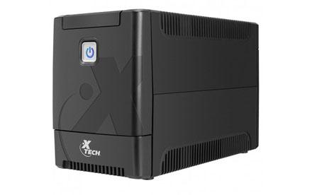 Xtech - UPS XTP-511  - 250 Watt - 500 VA - AC 110 V - 8 outlets