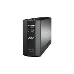 APC Back-UPS RS LCD 700 Master Control - UPS - CA 120 V - 420 vatios - 700 VA - USB - 6 conector(es) de salida